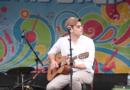 Joe Hawley performing at Sonic Lunch