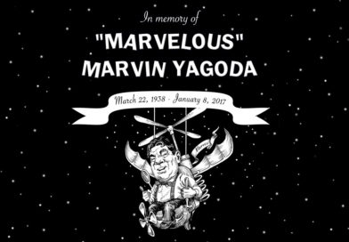In memory of Marvelous Marvin Yagoda