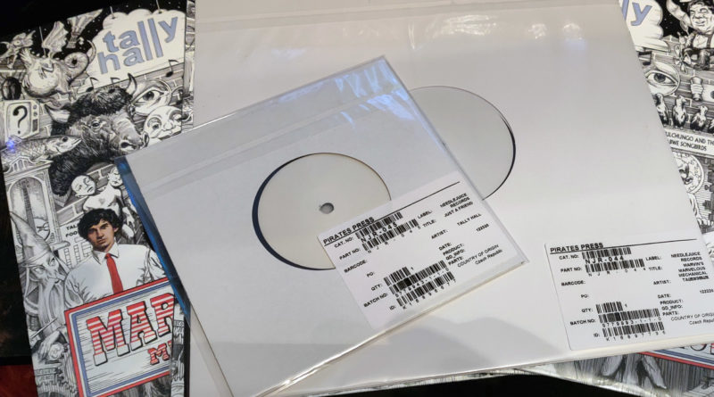 Test Printings and MMMM Vinyls